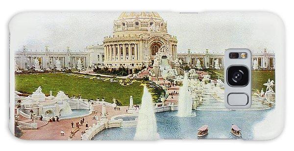 Saint Louis World's Fair Festival Hall And Central Cascade                            Galaxy Case