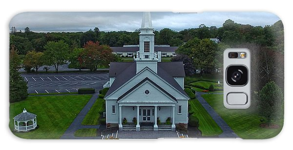 Saint Mary's Church From Above Galaxy Case