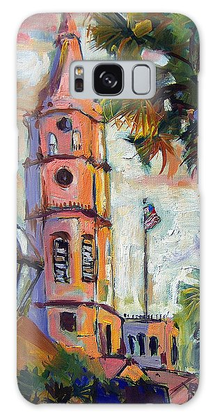 Saint Michaels Church Charleston Sc Oil Painting Galaxy Case by Ginette Callaway