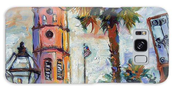 Saint Michaels Church Charleston Sc Oil Painting Galaxy Case