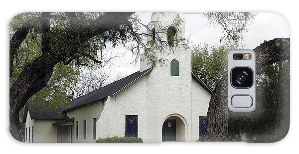 Saint Miguel Archangel Catholic Church In Little Los Ebanos Galaxy Case