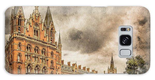 London, England - Saint Pancras Station Galaxy Case
