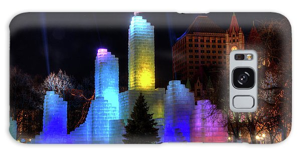 Saint Paul Winter Carnival Ice Palace 2018 Lighting Up The Town Galaxy Case