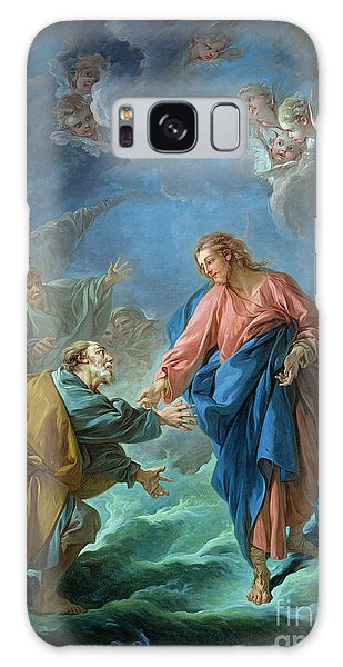New Testament Galaxy Case - Saint Peter Invited To Walk On The Water by Francois Boucher