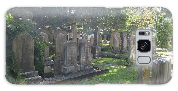 Saint Phillips Cemetery 4 Galaxy Case by Gordon Mooneyhan