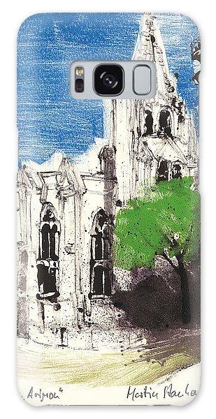 Saint Pierre Avignon Provence Galaxy Case by Martin Stankewitz