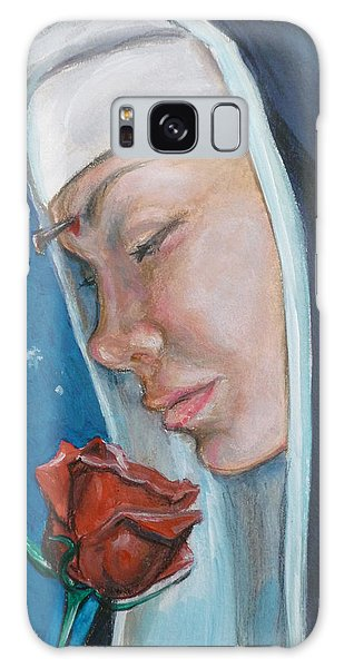 Saint Rita Of Cascia Galaxy Case