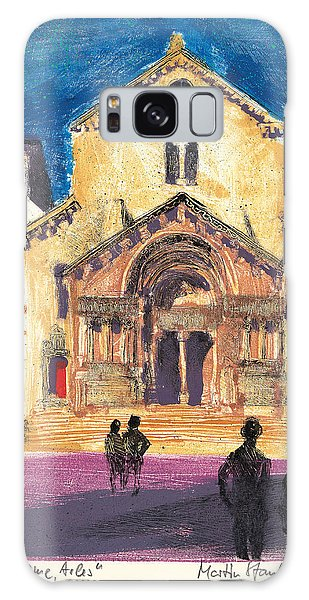 Saint Trophime Arles Provence Galaxy Case by Martin Stankewitz