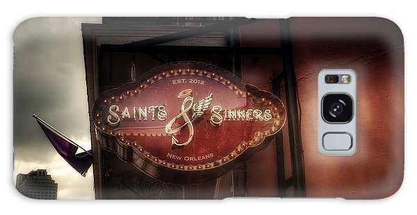 Saints And Sinners Galaxy Case