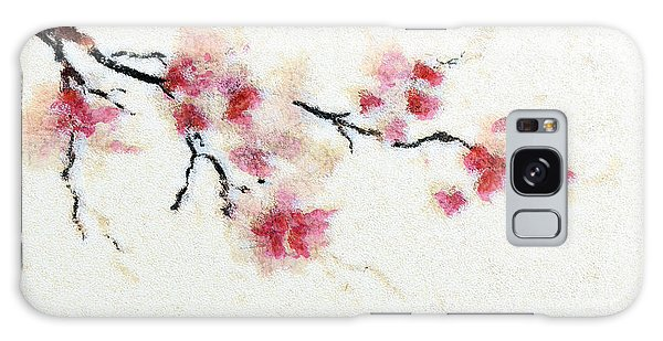 Sakura Branch Galaxy Case