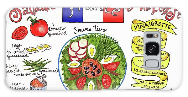 Salade Nicoise Galaxy Case