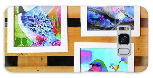 Galaxy Case - *sale* 3 11 X 14 In. Bird Prints With by Robin Mead