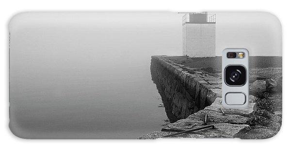 Salem Ma Derby Wharf In Heavy Fog Galaxy Case