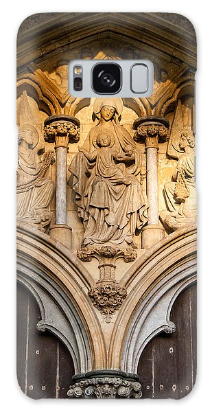 Salisbury Cathedral Doors Galaxy Case