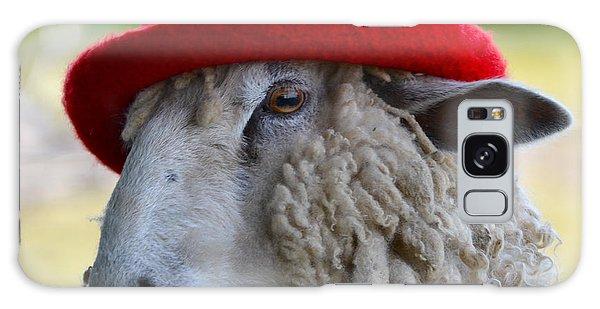 Sally The Sheep Galaxy Case