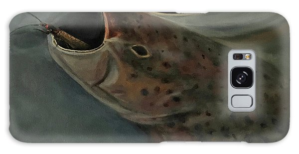 Salmon Flies Are Back Galaxy Case