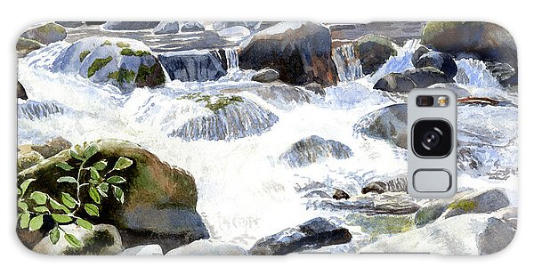 Salmon Galaxy S8 Case - Salmon River Falls And Rocks by Sharon Freeman