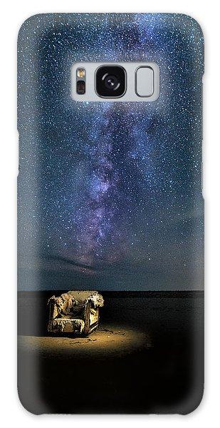 Salt Flats Milky Way Chair Galaxy Case
