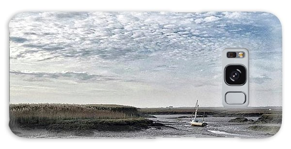 Salt Marsh And Creek, Brancaster Galaxy Case