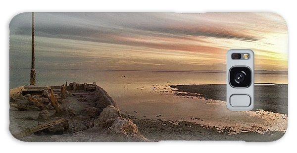 Salton Sea Sunset Galaxy Case