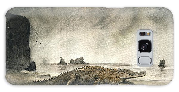 Saltwater Crocodile Galaxy Case