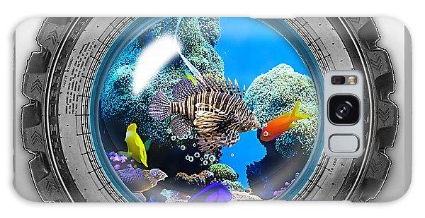 Saltwater Tire Aquarium Galaxy Case