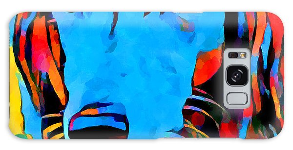 Sighthound Galaxy Case - Saluki Portrait  by Chris Butler