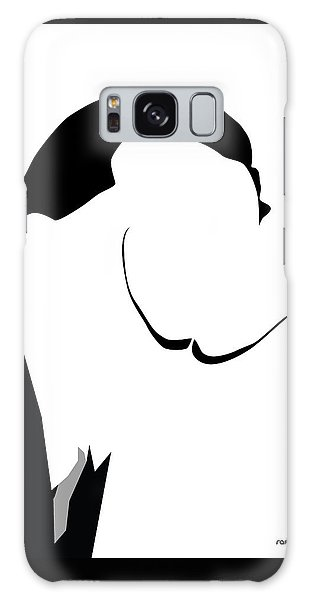 Girl With A Pearl Earring Galaxy Case - Salvador Dali by Rafael Gomes