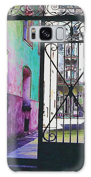 Galaxy Case featuring the photograph Salzburg Gate by Kate Word