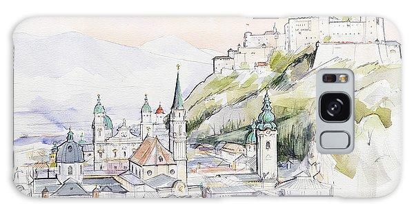 Monarch Galaxy Case - Salzburg Sunrise  by Clive Metcalfe