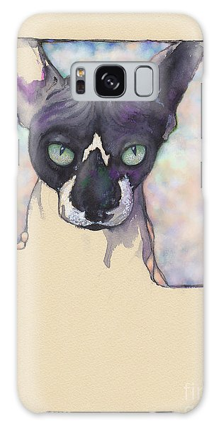 Sam The Sphynx Galaxy Case