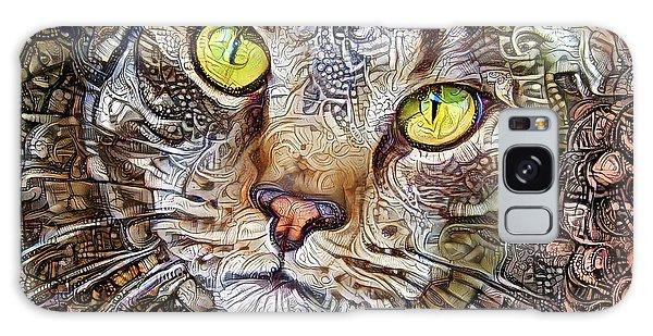 Sam The Tabby Cat Galaxy Case