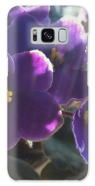 Samara's Flowers Galaxy Case by Jim Vance