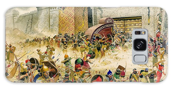 Wall Paper Galaxy Case - Samaria Falling To The Assyrians by Don Lawrence