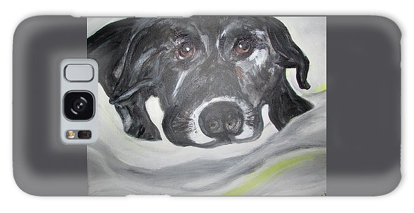 Sweet Sami Black Lab Galaxy Case