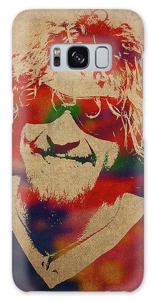 Sammy Hagar Van Halen Watercolor Portrait Galaxy S8 Case