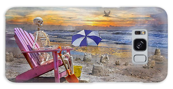 Sam's  Sandcastles Galaxy Case by Betsy Knapp