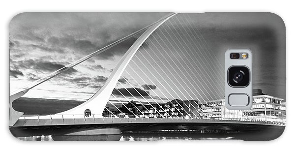 Samuel Beckett Bridge In Bw Galaxy Case