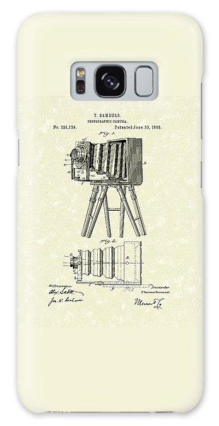 Samuels Photographic Camera 1885 Patent Art Galaxy Case