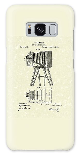 Samuels Photographic Camera 1885 Patent Art Galaxy Case