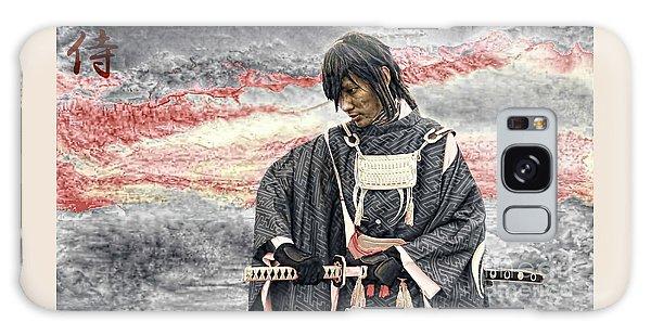 Samurai Warrior Galaxy Case by Ian Gledhill