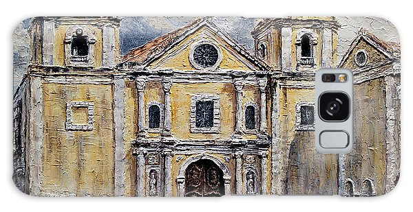 San Agustin Church 1800s Galaxy Case by Joey Agbayani