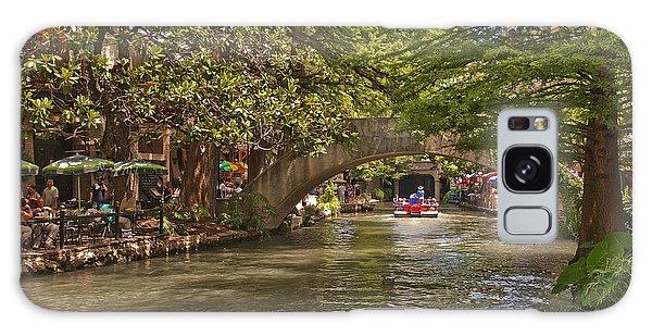 San Antonio Riverwalk Galaxy Case by Steven Sparks