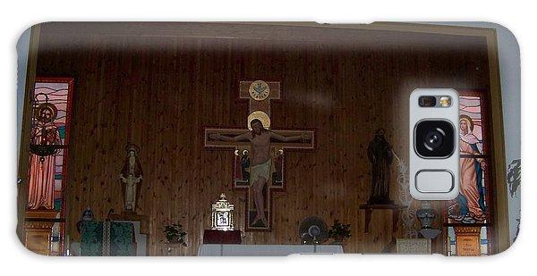 San Bernardo Abad,la Virgen Milagrosa Galaxy Case