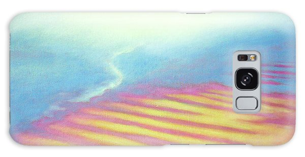 San Blas Sunrise Ripples Galaxy Case by Angela Treat Lyon
