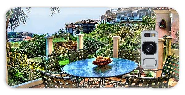 San Clemente Estate Patio Galaxy Case