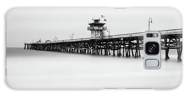 Galaxy Case featuring the photograph San Clemente Pier by Tassanee Angiolillo