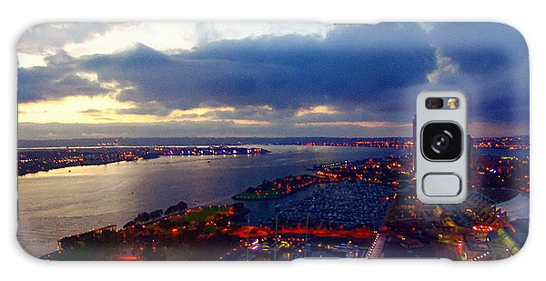 San Diego By Night Galaxy Case by Glenn McCarthy Art and Photography