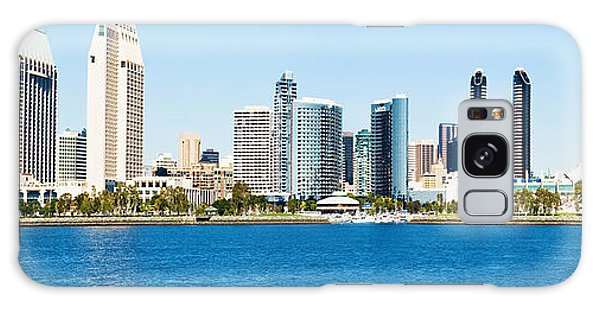San Diego Cityscape Panorama Galaxy Case