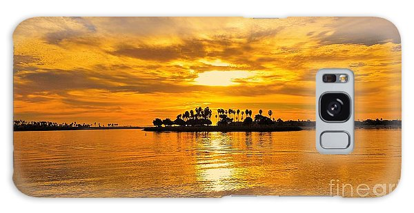 San Diego Golden Sky By Jasna Gopic Galaxy Case